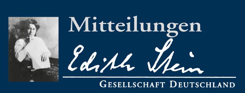 Mitteilungen der Edith Stein Gesellschaft Deutschland